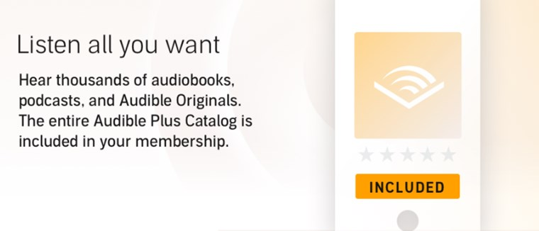 Audible Plus Catalog - listen all you want