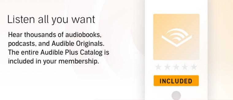 Audible Plus Catalog - listen all you want