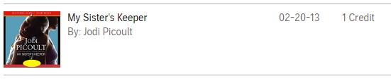 2013年のaudible購入履歴
