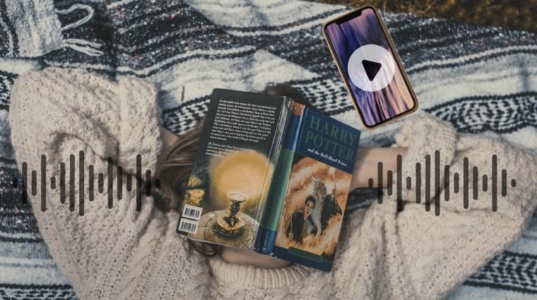 ハリーポッターのオーディオブックを1冊無料で聴く
