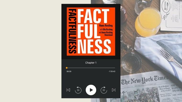 my audiobook - factfulness