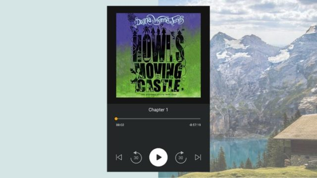 my audiobook - howl's moving castle