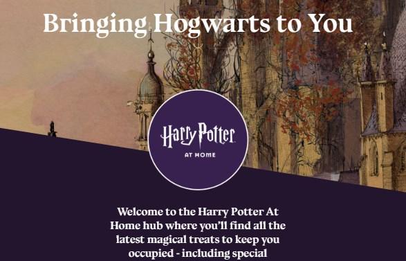 Bringing Hogwarts to You - Harry Potter at Home