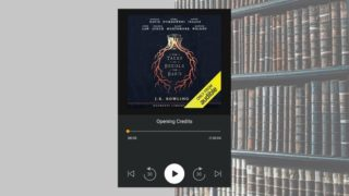 my audiobook - the tales of beedle the bard