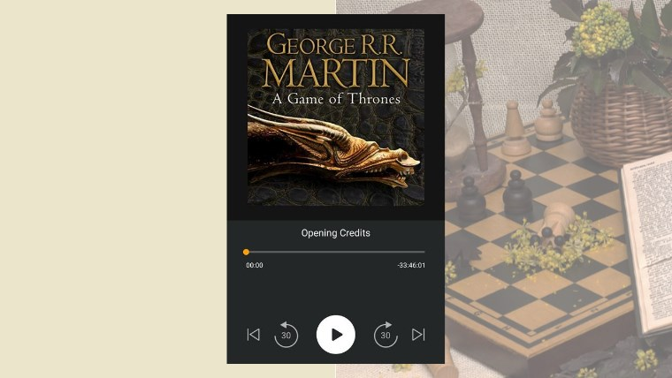 a game of thrones - my audiobook