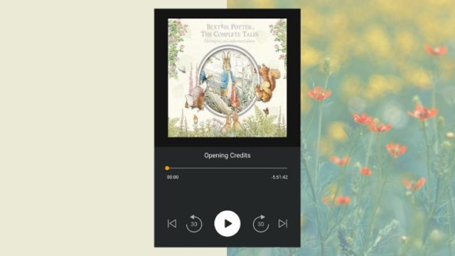 beatrix potter peter labbit - my audiobook