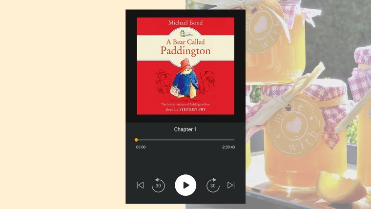 paddington bear - my audiobook