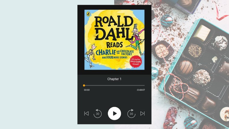 roald dahl reads audiobooks