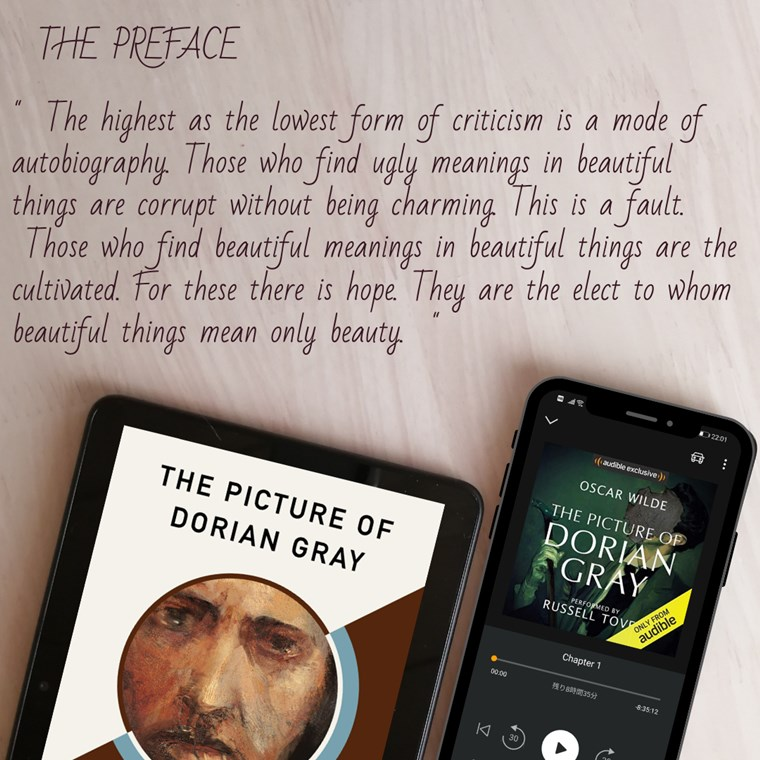 The Picture of Dorian Gray(原書・オーディオブック)