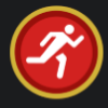 マラソンランナー・Marathoner(Audibleバッジコレクション)