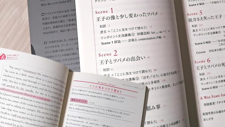 「幸福な王子」日英対訳+文法解説『オスカー・ワイルドで学ぶ英文法』