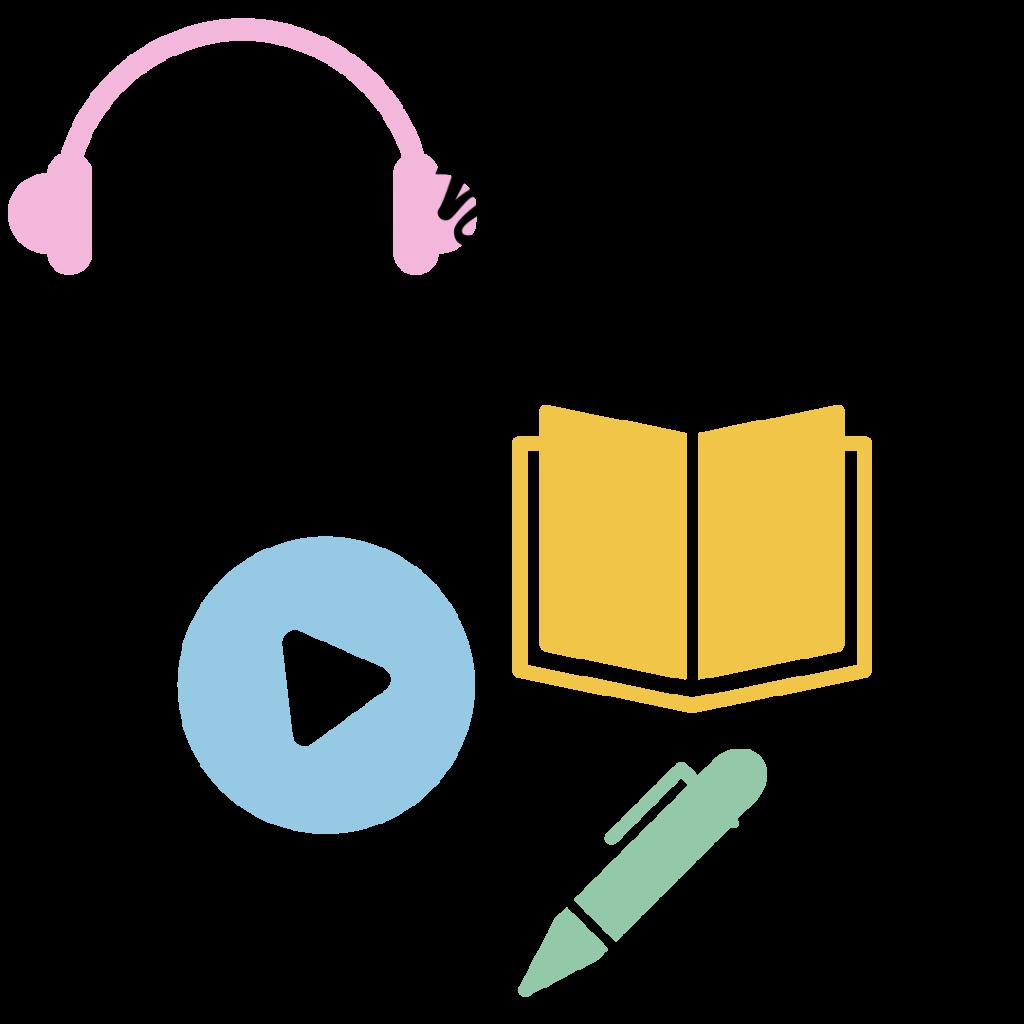 英語多聴ブログでは、英語学習を楽しむ情報発信中