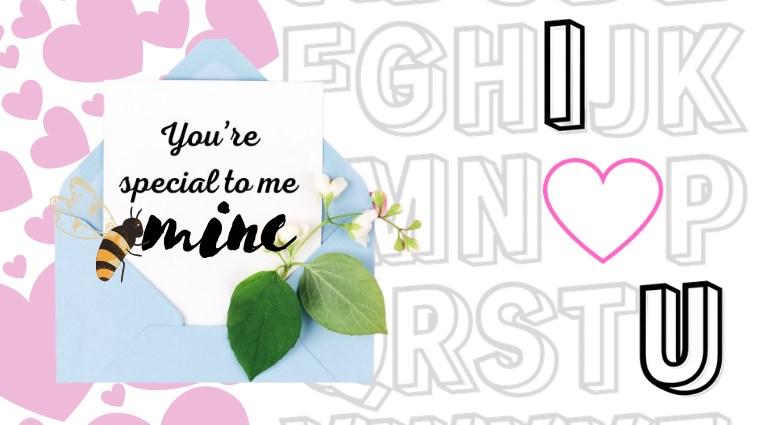英語の一言メッセージ入りバレンタインカード無料プリント素材【こどもからパパ/友達へ】