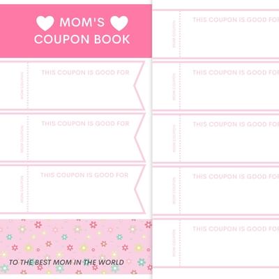 DIY GIFT IDEA: MOM'S COUPON BOOK