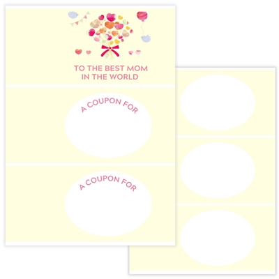 DIY GIFT IDEA: COUPON BOOK to the best mom in the world