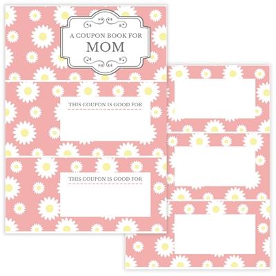DIY GIFT IDEA: COUPON BOOK for mom