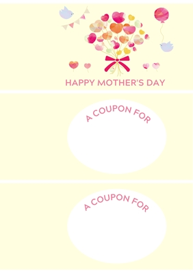 Happy Mother's Day - Coupon Book