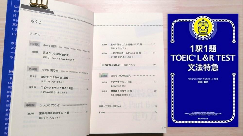 1駅1題! TOEIC L&R TEST 文法特急